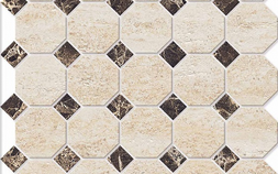 DECOR MOSAICO OCTAGON SMALL / ДЕКОР МОЗАИКО ОКТАГОН СМОЛ